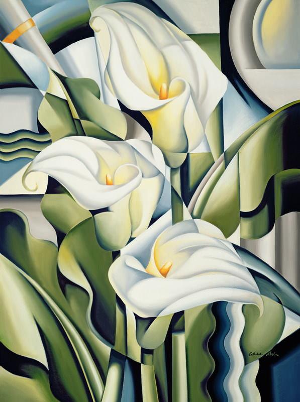 Кубистические лилии 2002 - Кэтрин Абель