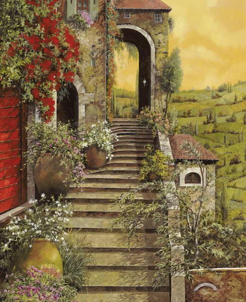 Лестница на скале - Гвидо Борелли