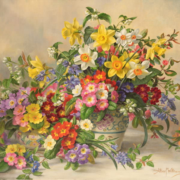 Весенние цветы - Альберт Вильямс