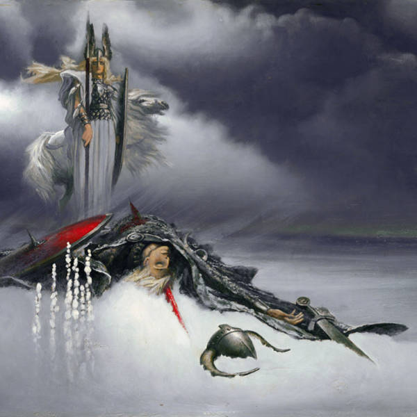 Валькирия над сраженным воином
