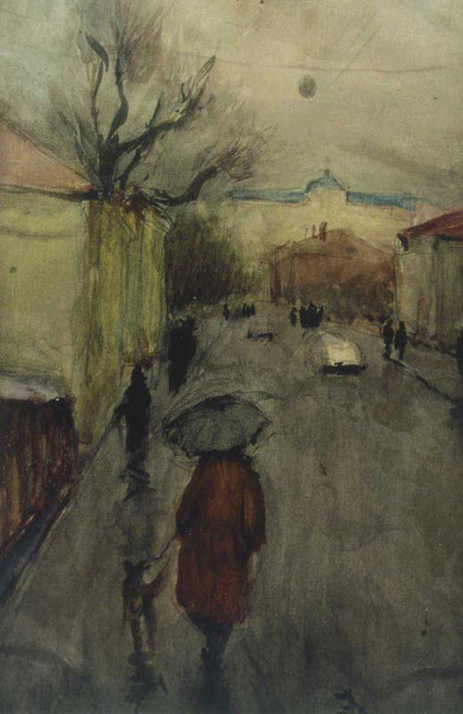 Весенняя улица