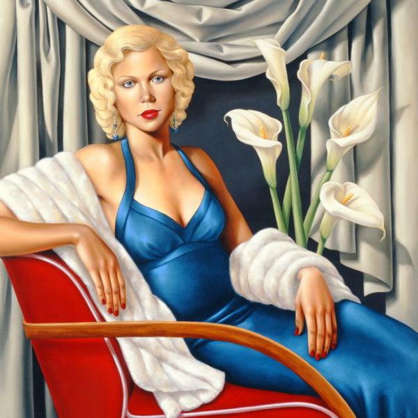 Женщина в сапфировом синем платье - Кэтрин Абель