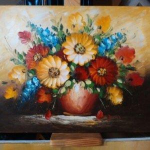 Картина «Букет в вазе» 31х42 см – Щ214