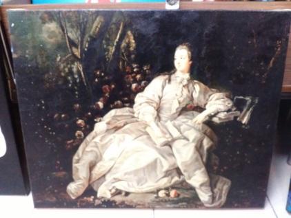 Печ/ х В.Боровиковский «Портрет М. Лопухиной» в раме 31,5х25 см – Щ222
