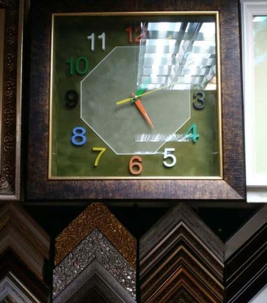 Часы в раме - Щ245