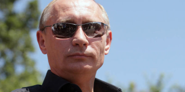 Russia's Prime Minister Vladimir Putin a