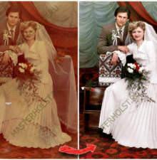 Реставрация и восстановление старых фотографии