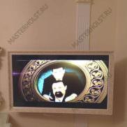Оформление телевизора в багетную раму