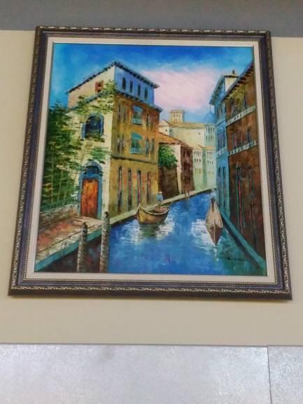 Картина «Венеция» в раме 62х52 см – П030